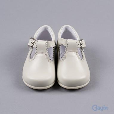 Zapato mercedita pespunte BAYON