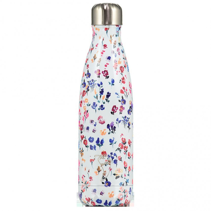 Termo acero inoxidable CHILLYS Flores silvestres