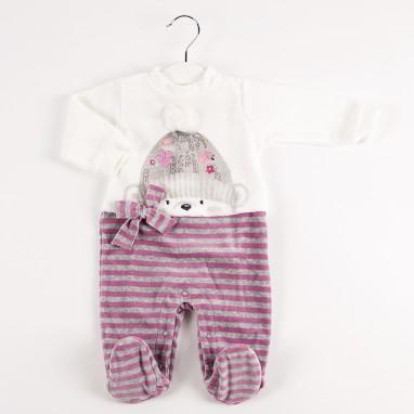 Pijama tundosado rayas BAYON
