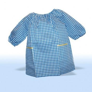 Baby colegio y guardería azul y blanco PERSONALIZADO