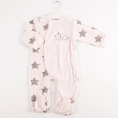 Pijama entero tundosado estrellas BAYON