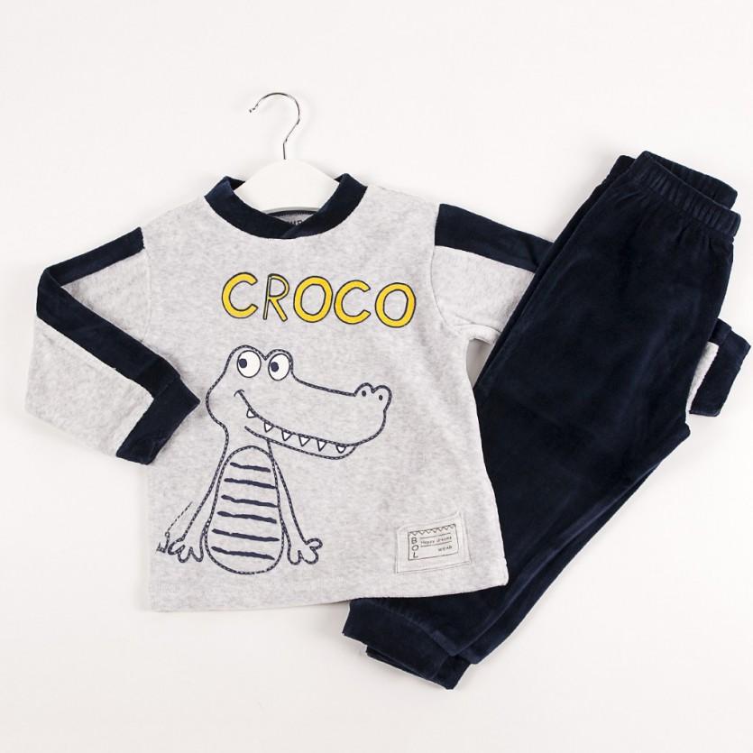 Pijama 2 piezas cocodrilo BAYON