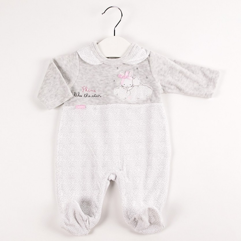 Pijama entero tundosado conejito BAYON