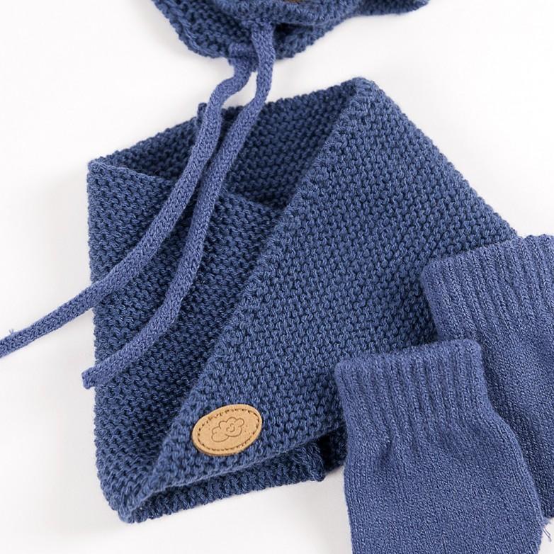 8e14242223db Comprar Conjunto bebé gorro bufanda y guantes BAYON - BAYON